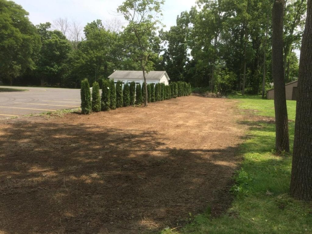 land grading in Rochester NY